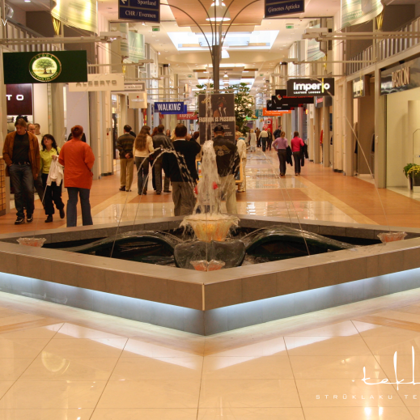 Strūklaka tirdzniecības centrā «Domina Shopping» / 2006. gads